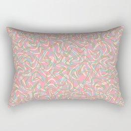 Boomerang Pink Rectangular Pillow