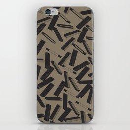 3D X Pattern iPhone Skin