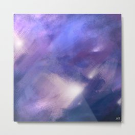 Innocence (Remembering life before the hurt) | Abstract Painting Metal Print