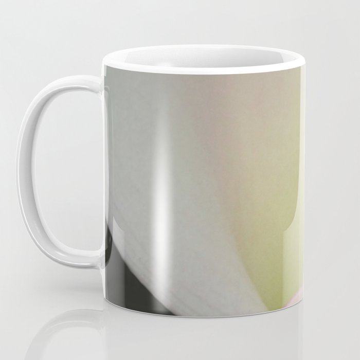 White Calla Lily Flower Modern Cottage Floral A407 Coffee Mug