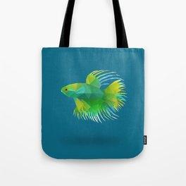 Japanese Fighting Fish. Tote Bag