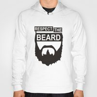 wwe Hoodies featuring RESPECT THE BEARD TSHIRT DANIEL T SHIRT BRYAN WWE TOP TEE WWF WRESTLING FUNNY. by jekonu