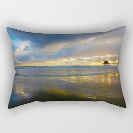 Sunset Huntington Beach Pier      10 / 9 / 13 Rectangular Pillow