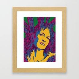Sleeping Forest 13 Framed Art Print