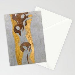 Gustav Klimt - Die Künste Stationery Cards