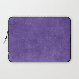 Ultra Violet Oil Pastel Color Accent Laptop Sleeve
