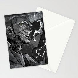 Valentine (BW) Stationery Cards
