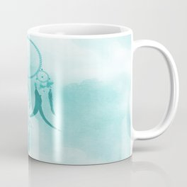 Aqua DreamCatcher Coffee Mug