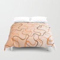 wave Duvet Covers featuring Wave by ArtSchool