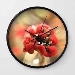 Magic MacRose Wall Clock