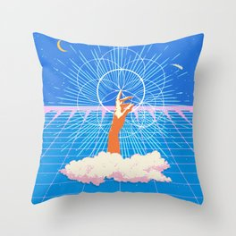 DREAM LANGUAGE Throw Pillow