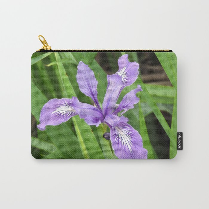 Pale Iris Carry-All Pouch
