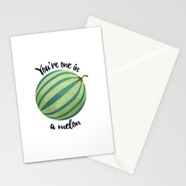You're One In A Melon Stationery Cards