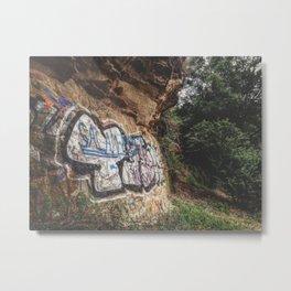 Cluj Graffiti #3 Metal Print