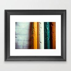 Anxious Framed Art Print