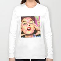 neon Long Sleeve T-shirts featuring Neon  by Kate Allison