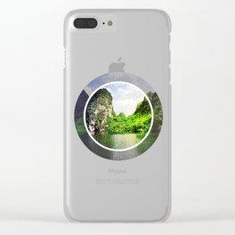 Trang An Ninh Binh Vietnam Landscape Clear iPhone Case