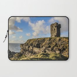Travel to Ireland: Watching Over the Cliffs of Moher Laptop Sleeve