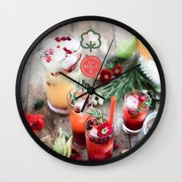 Let's get healthy! Wall Clock