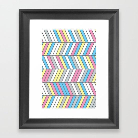 Four Colour Process Framed Art Print