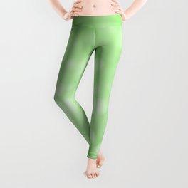 Lime Green Ombre Leggings