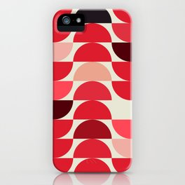 Red Bowls iPhone Case