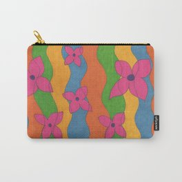 Retro: Flower Power Carry-All Pouch