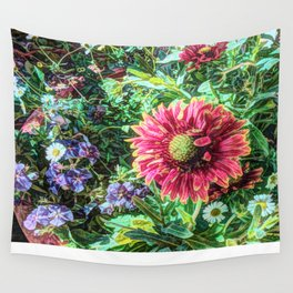 Flowers are not Forever  Wall Tapestry