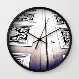 Don't Come A' Knockin' Wall Clock