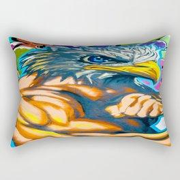 Much America Rectangular Pillow