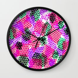 Colorful Fusion Wall Clock