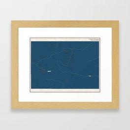 Colorado Parks - v2 Framed Art Print