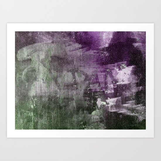 A GunShot In A Dark Alley Art Print
