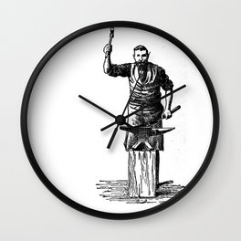 Blacksmith Wall Clock