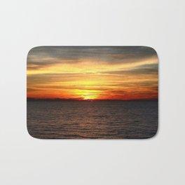 Black Sea Sunset Bath Mat