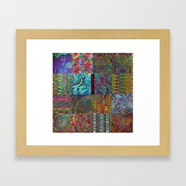 Bohemian Wonderland Framed Art Print