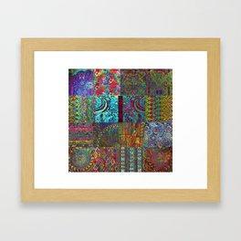 Bohemian Wonderland Framed Art Print