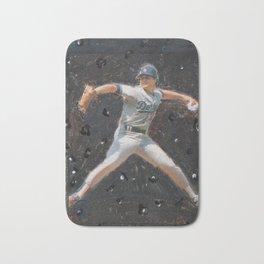 Rick Honeycutt in Space, Dodgers Bath Mat