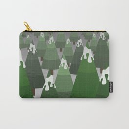 Wintery Trees Carry-All Pouch