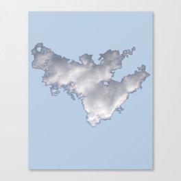 Cloud on Blue 2 Canvas Print