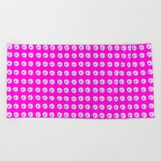 Pink Eye Beach Towel
