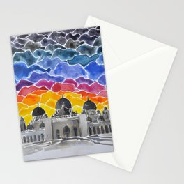 Sheikh Zayed Grand Mosque, Abu Dhabi, UAE Stationery Cards