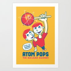Space Age Suckers Art Print