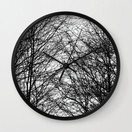 Tree Silhouette Series 8 Wall Clock