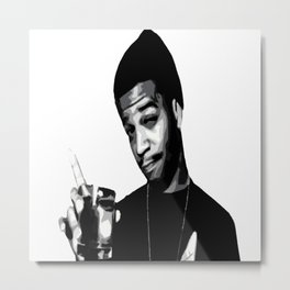 For The Love Of Mr.Rager Metal Print