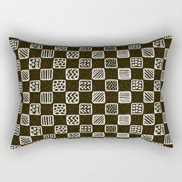 Boxed geo mish mash Rectangular Pillow