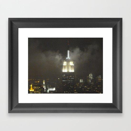 Gotham city Framed Art Print