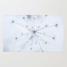 Beautiful Dry Flower with Ice Crystals #decor #buyart #society6 Rug