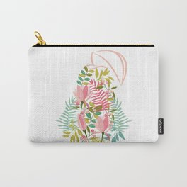 Flower Pear Carry-All Pouch