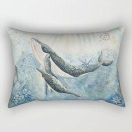The Voyage Home Rectangular Pillow